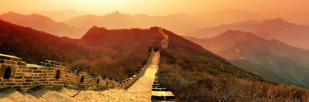 Chinesische Mauer, im Herkunftsland des Feng Shui